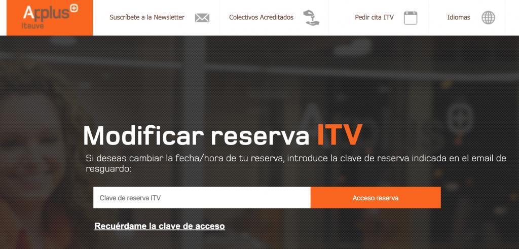 Anular Cita ITV Applus